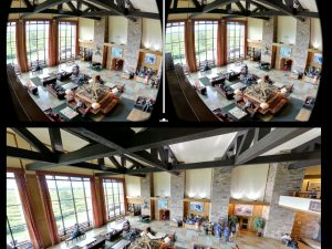 Google Virtual Reality Experience of the Jackson Lake Lodge