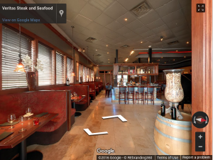 Veritas Steak and Seafood Virtual Tour
