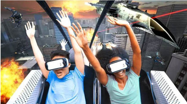 Virtual REality coming to real-life roller coasters at Six Flags