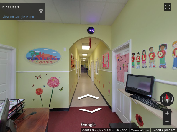 Kids Oasis Virtual Tour | REnding 360 on instagram shots, google street view shots, google satellite shots, web shots,