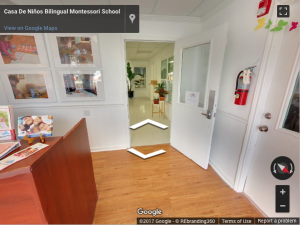 Montessori Virtual Tour - REbranding 360