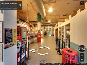 Restaurant Virtual Tour - Google Street View