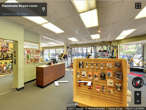 Bike Shop Google Virtual Tour