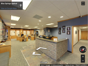 Optician Virtual Tour - REbranding 360