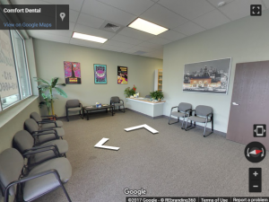 Comfort Dental Virtual Tour