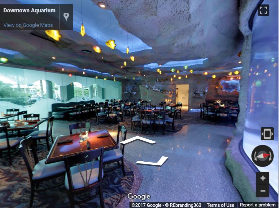 Downtown Aquarium Virtual Tour Rebranding 360