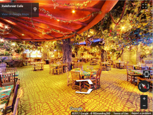 Rainforest Cafe Woodfield Virtual Tour