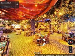 Rainforest Cafe Woodfield Virtual Tour