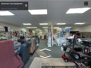 American Care Equipment Google Virtual Tour