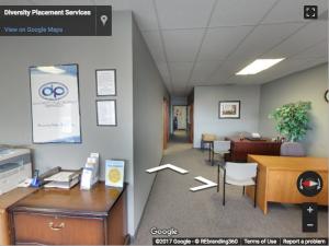 Diversity Placement Services Google Virtual Tour