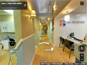 Upen J. Patel, DDS, MAGD Google Virtual Tour