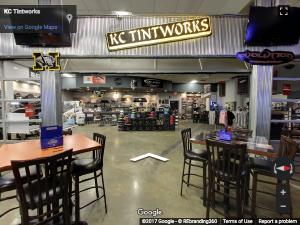 KC Tint Works Google Virtual Tour