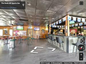 The Duck Off Sports Bar Virtual Tour