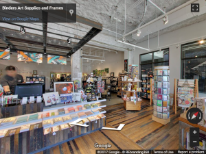 Binders Art Supplies and Frames Virtual Tour
