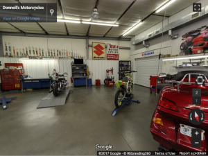 Donnell's Motorcycle Virtual Tour