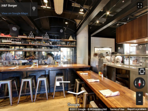 H&F Burger Virtual Tour