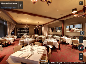 Mastro's Steakhouse Virtual Tour