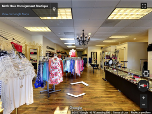 Moth Hole Consignment Boutique Virtual Tour