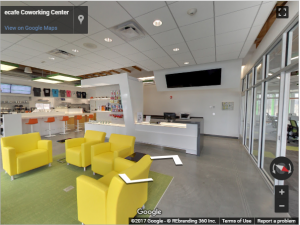 Ecafe Coworking Center Virtual Tour