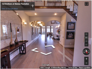 Toll Brothers at Sienna Plantation Virtual Tour