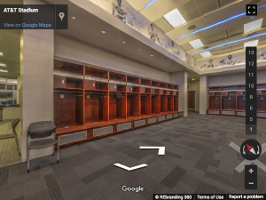 AT&T Stadium Google Virtual Tour