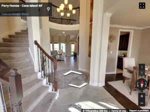 Perry Homes Google Virtual Tour