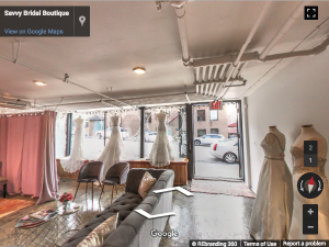 Savvy Bridal Boutique Google Virtual Tour